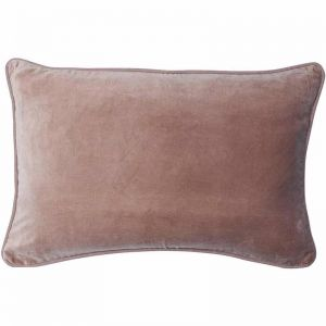 Lynette Velvet Cushion | Musk | Rectangle