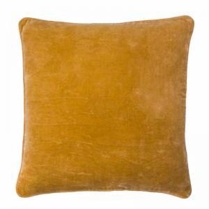 Lynette Velvet Cushion | Mustard | Large