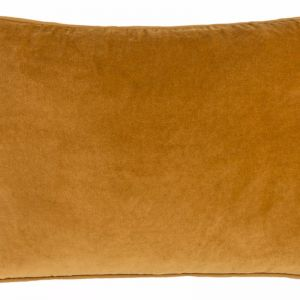 Lynette Velvet Cushion | Mustard | Rectangle