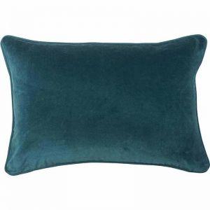 Lynette Velvet Cushion | Ocean | Rectangle