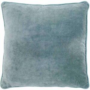 Lynette Velvet Cushion | Sea Mist | Medium