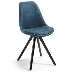 Lyra Dining Chair | Deep Blue