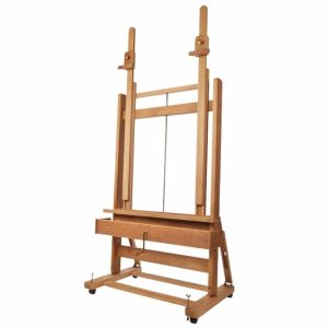 Mabef M02 Double Mast Easel | With Crank & Storage