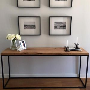 Madison Console Table Messmate Medium Feature