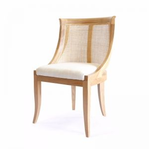 Madrid Side Chair | Natural | by Black Mango