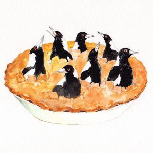 Mag pie | Original Watercolour Artwork