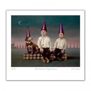 Magic Realism | Master's Apprentices | Limited Edition Print by Gill Del-Mace