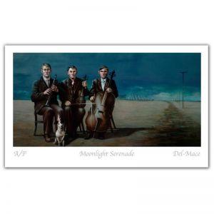 Magic Realism | Moonlight Serenade | by Gill Del-Mace