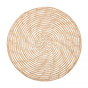 Magpie Palm Fibre Round Placemat | Set Of 4