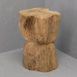 Maia Bulb Tree Stump Stool | Pre Order