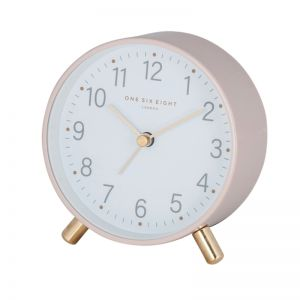 Maisie Blush Alarm Clock by One Six Eight London