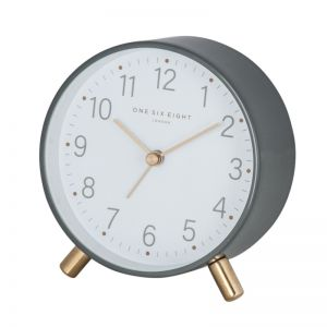 Maisie Grey Alarm Clock by One Six Eight London