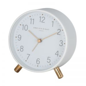 Maisie White Alarm Clock by One Six Eight London