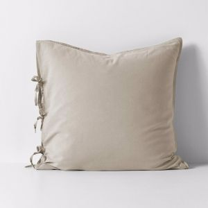 Maison Vintage European Pillowcase | Natural | by Aura Home