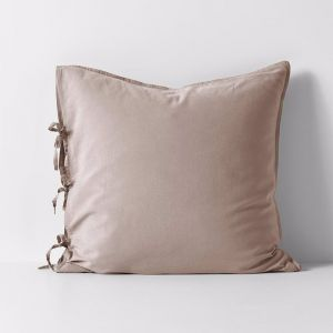 Maison Vintage European Pillowcase | Nude | by Aura Home