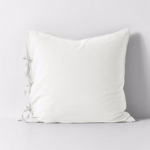 Maison Vintage European Pillowcase | White | by Aura Home