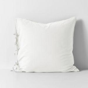 Maison Vintage European Pillowcase | White | By Aura Home