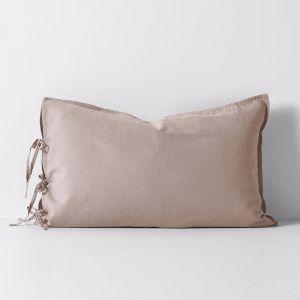 Maison Vintage Standard Pillowcase | Nude | by Aura Home