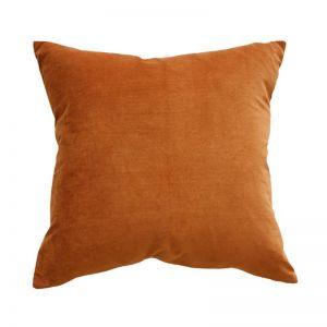Majestic Velvet Cushion   Nutmeg   CLU Living