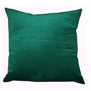 Malachite Green Velvet/Linen Cushion | CLU Living