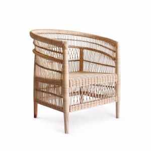 Malawi Club Chair | Natural | by Black Mango