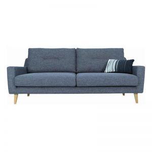 MALIBU 3 Seater Sofa - Marble Blue