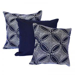 Malibu Navy | Sunbrella Fade and Water Resistant Outdoor Cushion