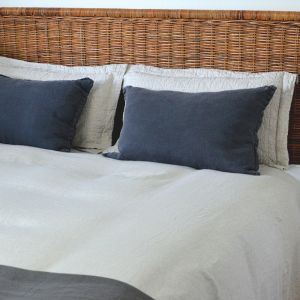Malibu Woven Rattan Bedhead | King Size