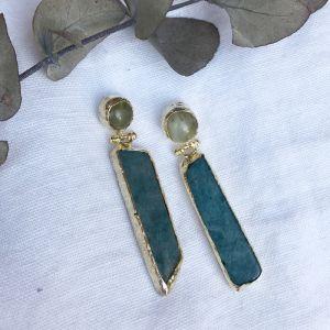 Mara Double Drop Earrings