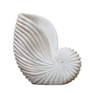 Marble Conch Shell | Large