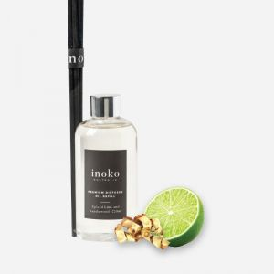 Marble Diffuser Vessel & Diffuser Oil Refill | Spiced Lime & Sandalwood