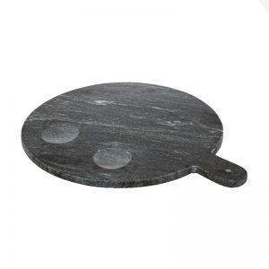 Marble Platter Dish | Black