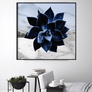 Marble Succulent | Limited Edition Unframed Print | by Arti Shah