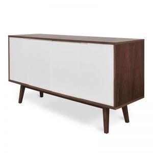 Marc Scandinavian Wooden Sideboard | Walnut
