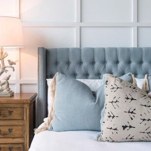 Margaux Bedhead French Blue | Various Sizes