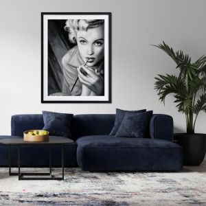 Marilyn Mono Poster | Framed