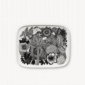 Marimekko Oiva and Siirtolapuutarha 4 Piece Plate Set
