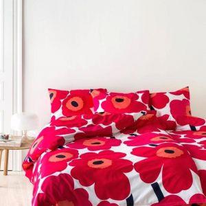 Marimekko Unikko Duvet Cover Set | Queen Bed