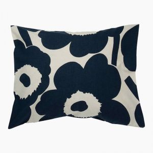 Marimekko Unikko Navy Pillowcase | 50 x 70/75cm