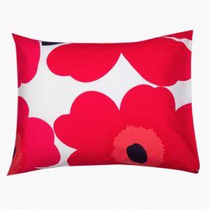 Marimekko Unikko Red Pillowcase | 50x70/75 cm