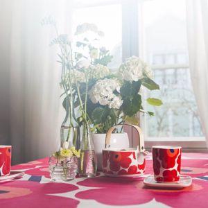 Marimekko Unikko Teapot and Mug Set