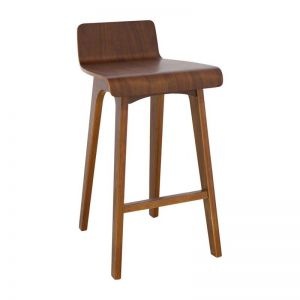 Marina Bar Stool | Walnut