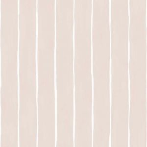 Marquee Stripe Wallpaper - Pink