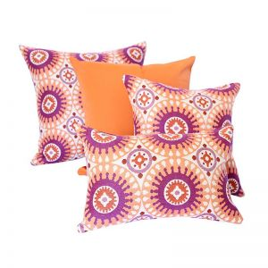 Marrakesh Orange | Sunbrella Fade and Water Resistant Outdoor Cushion