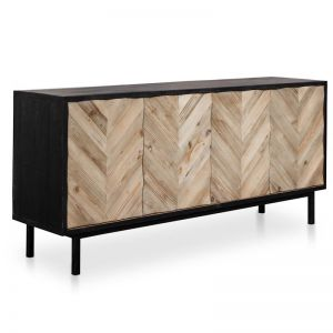 Marshall Reclaimed Sideboard and Buffet | Black Base