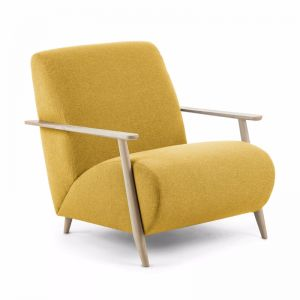 Marthan Armchair | Ash and Mustard