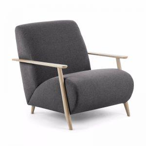 Marthan Armchair | Ash & Graphite