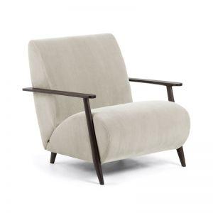 Marthan Armchair | Beige Corduroy