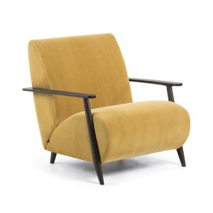 Marthan Armchair | Mustard Corduroy