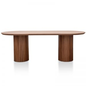 Marty 2.2m Dining Table | Walnut